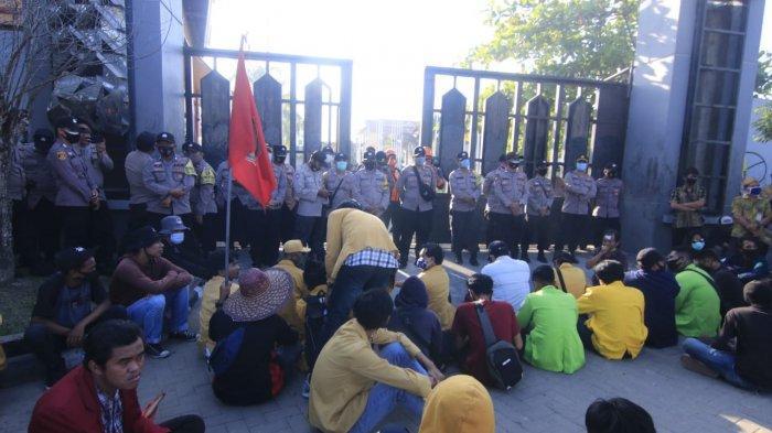 Daftar 9 Mahasiswa yang Diamankan oleh Pihak Polresta Samarinda dalam Unjuk Rasa Tolak Omnibus Law