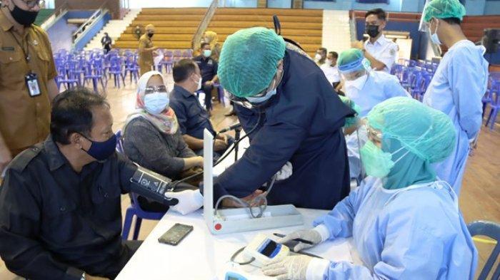 Anggota DPRD Kaltim Ikut Vaksinasi Massal, Amiruddin: Sedikit Gugup, Maka Tekanan Saya Sempat Naik