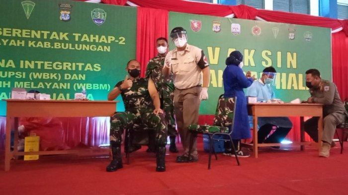 90 Persen Nakes di Kaltara Telah Divaksin Covid-19, Kabupaten Nunukan Tertinggi