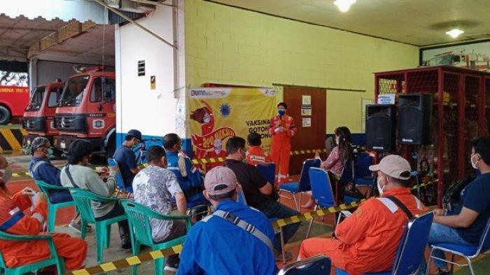 Pertamina Hulu Kalimantan Timur Gelar Vaksinasi Gotong Royong di Terminal Lawe-Lawe