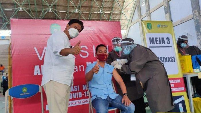 Hari Ini Vaksinasi Pegawai di Organisasi Perangkat Daerah Lingkup Pemkab Kukar Dilanjutkan