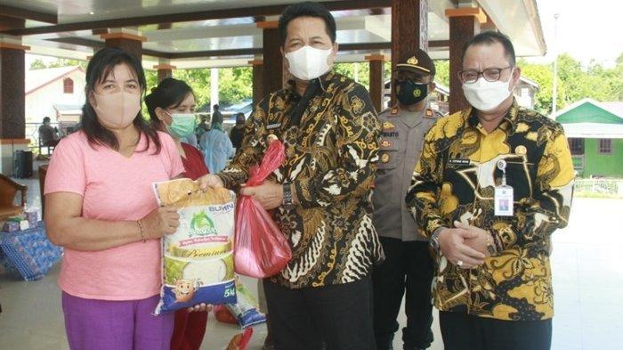 Pemkab Mahulu Sambut HUT ke-75 Bhayangkara, Bupati Buka Vaksinasi Massal Covid-19