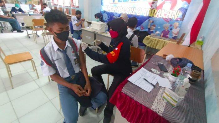 Realisasi Vaksinasi Pelajar di Tarakan 3.000 Dosis, Danlantamal XIII Sebut Belum Ada Laporan KIPI