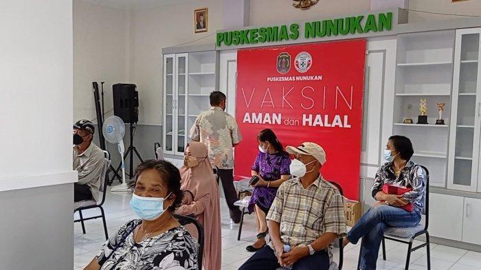 Puluhan Lansia Ikut Vaksinasi Covid-19 di Puskemas Nunukan, Warga Merasakan Biasa Saja