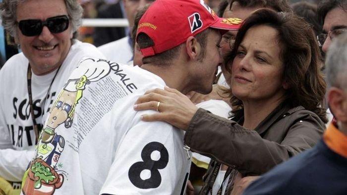 Valentino Rossi Ceritakan Sosok Ibunya, Stefania yang Sering Jadi Tempat Curhat