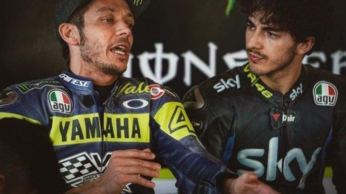 Juventus Beri Kejutan tak Terduga ke Anak Didik Rossi di MotoGP, Cek Komentar Bagnaia Tentang Pirlo