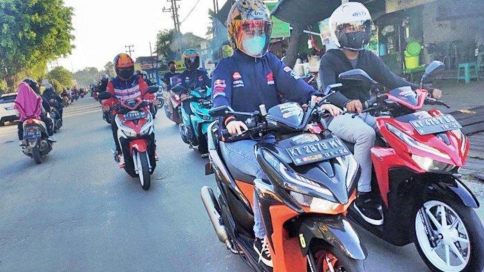 50 Anggota Komunitas di Kaltim Antusias Ikuti Vario Perfect Ride dengan Protokol Kesehatan