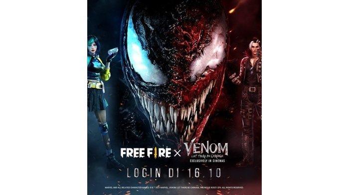 UPDATE Kode Redeem FF 25 September 2021: Klaim Sekarang & Jangan Lewatkan Kalaborasi Free Fire-Venom