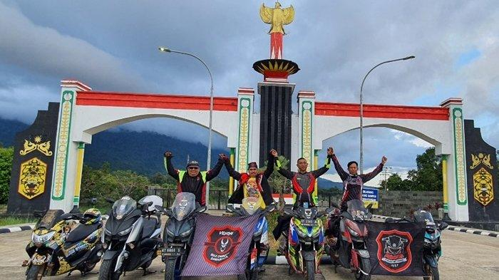 Komunitas Venom Max Owners Samarinda 10 Hari Jelajah Kalimantan dengan Yamaha MAXI