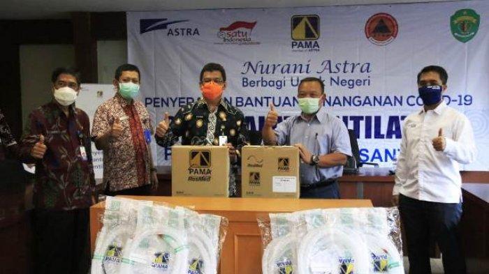 Pemprov Kaltim Terima Bantuan 2 Unit Ventilator dari Astra Group