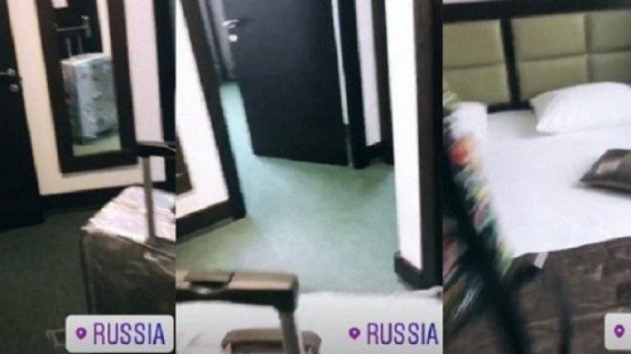 Via Vallen Bakal Nonton Langsung Laga Final, Begini Suasana Penginapan yang Ditempatinya di Rusia