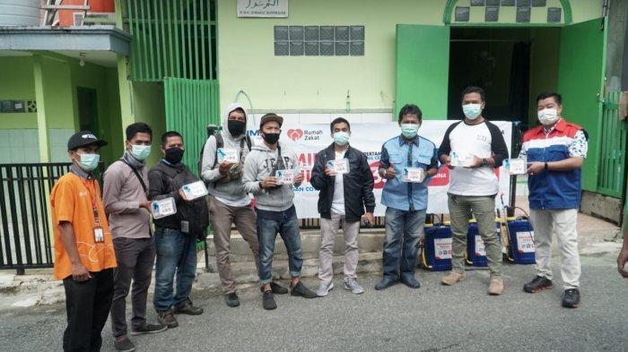 Cegah Penyebaran Virus Covid-19, Pertamina Serahkan Bantuan ke Kalangan Jurnalis di Balikpapan