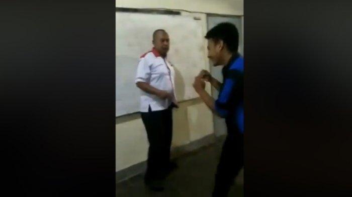 Viral Video Siswa SMK Mengasari Guru Dalam Kelas, Teman-temannya Tertawa dan Bertepuk Tangan
