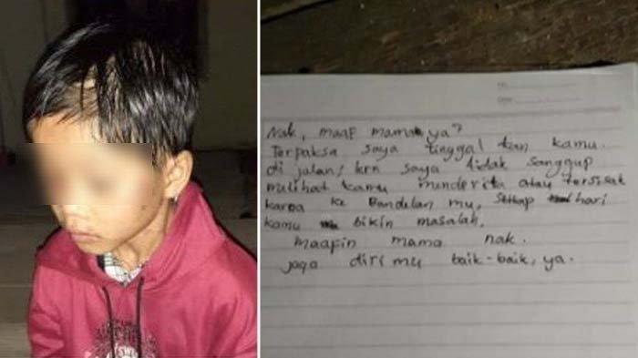 viral bocah dibuang orangtuanya gara-gara terlalu nakal