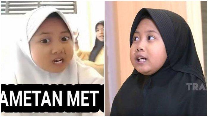 Viral Challenge Tik Tok Culametan Met Met Berawal dari Gadis Cilik Ini, Direkam di Kantin Sekolah