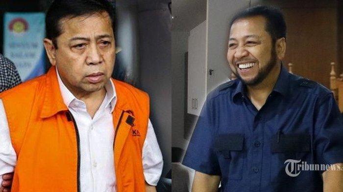 Kabar Terkini Setya Novanto, Jadi Petani Bareng Jero Wacik, Panen Raya Padi di Lapas Sukamiskin