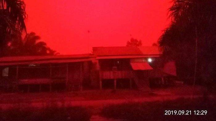 Langit Jambi yang Tiba-tiba Jadi Merah buat Situasi Mencekam, Begini Penjelasan BNPB dan Astronom