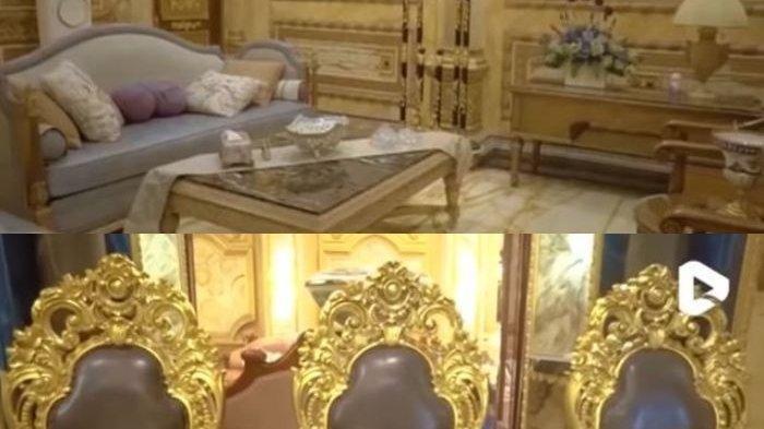 Viral Rumah Mewah Berlapis Emas, Dibangun 10 Tahun, Ada 99 Kamar, Pemiliknya Kakak Seorang Musisi