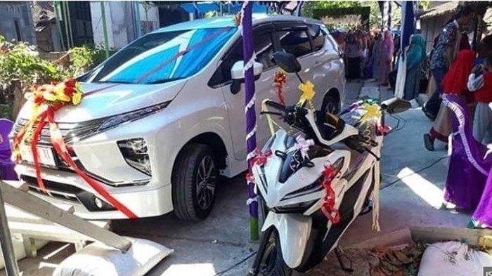 Viral, Pria Desa Ini Beri Mobil dan Motor Untuk Seserahan ke Pengantin Wanita, Berikut Kisahnya
