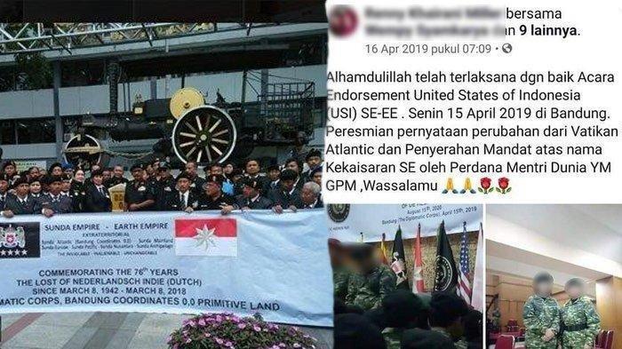 VIRAL Ucapan Nyeleneh Diduga Pemimpin Sunda Empire, Bandung Pusat Kekuasaan Dunia hingga Kiamat