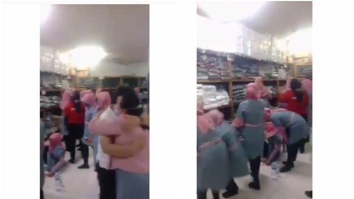 Pilu! Video Ratusan Pegawai Ramayana Menangis di-PHK Karena Covid-19, 130 Ribu Pekerja Bernasib Sama