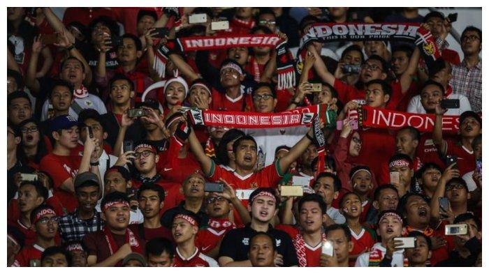Viral Video Suporter Indonesia Dikeroyok Suporter Malaysia, Laga di Stadion Batakan Dikawal Brimob