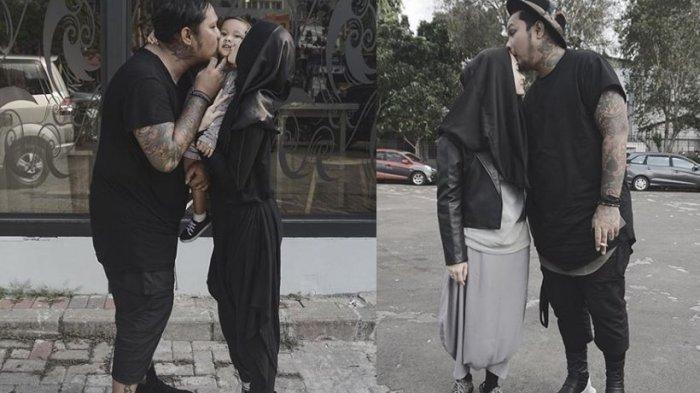 Istri Virgoun Kenakan Niqab, Ekspresi Suaminya Bikin Netizen Terharu