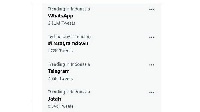 INI CARA Mengatasi WhatsApp Bermasalah dan Memperbaiki Instagram Error, Sampai Kapan Facebook Down?