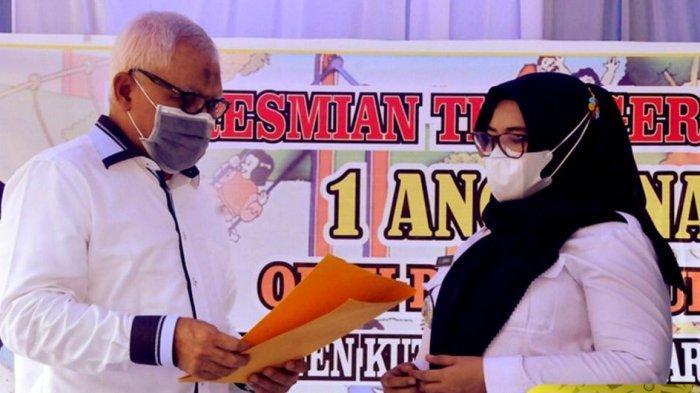 Wabup Kukar Chairil Anwar Resmikan TK Dahlia 2 di Anggana Jadi TK Negeri