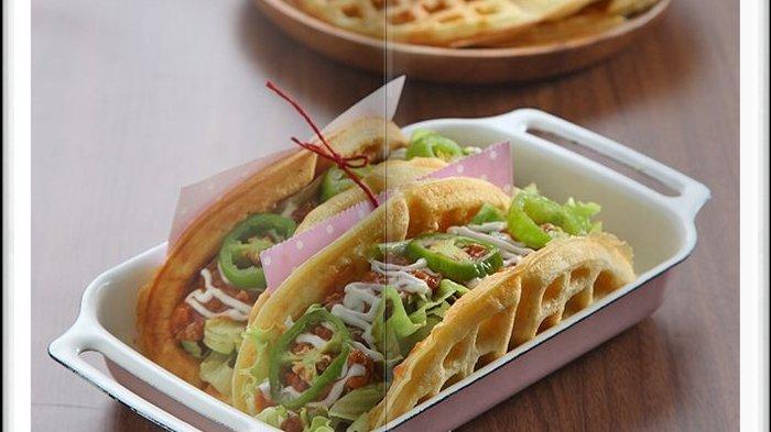 Cara Bikin Waffle Taco Super Enak, Menu Sarapan Mewah untuk Keluarga Tercinta