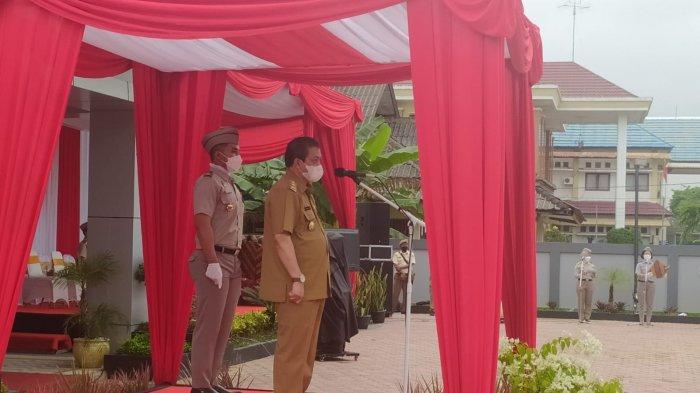 Wagub Kaltim Pimpin Apel HUT ke-61 Hari Agraria dan Tata Ruang di Samarinda, Tindak Mafia Tanah