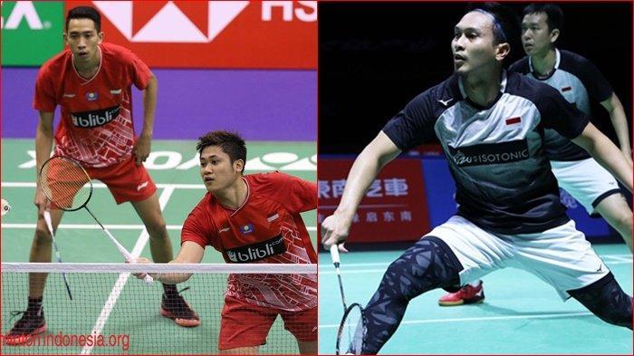Jadwal dan Link Live Streaming Badminton Hong Kong Open 2019, Diwarnai Perang Saudara Ganda Putra