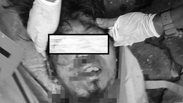Wajah terduga pelaku bom bunuh diri di Gereja Katedral Makassar.