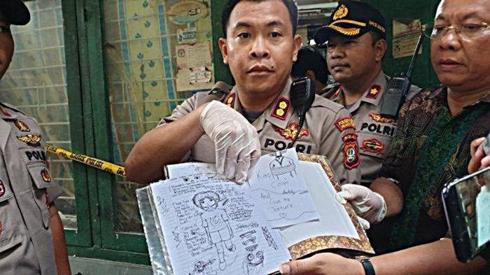Polisi Temukan Buku Curhat Siswi SMP Pembunuh Bocah di Sawah Besar, Ada Gambar & Kalimat Mengerikan