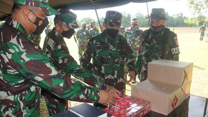 Pembekalan Satgas Apter Papua, Wakasad Letjen TNI Bakti Agus Fadjari Kunjungan Kerja ke Kalsel