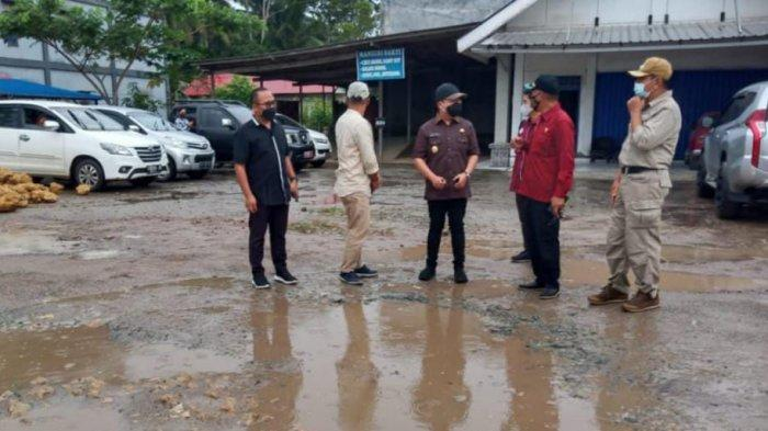 Wabup Kukar dan Wakil Ketua DPRD Kaltim Samsun Tinjau Kondisi Jalan Provinsi di Kawasan IKN