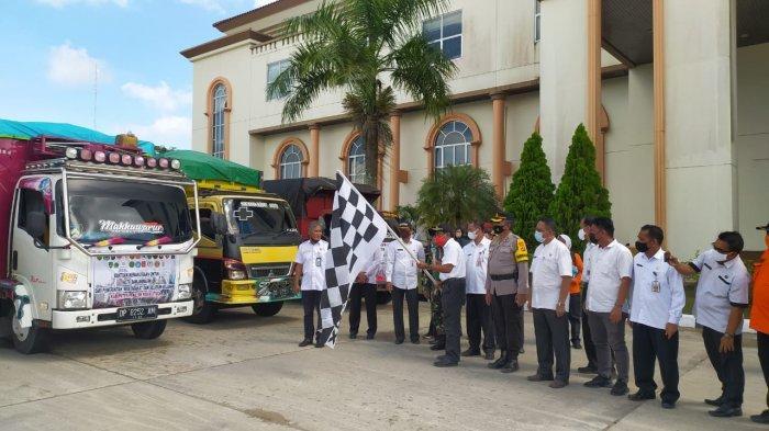 Kali ke-5 Pemkab PPU Kirim Bantuan Logistik ke Korban Banjir di Kalimantan Selatan