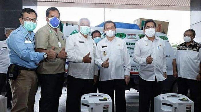 PT IHM dan PTKutai Refinery Nusantara Bantu 20 Unit Oxygen Concentrator untuk Pasien Covid-19