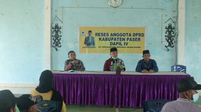 Wakil Ketua DPRD Paser Serap Aspirasi Warga di 3 Desa, Terutama Peningkatan Infrastruktur