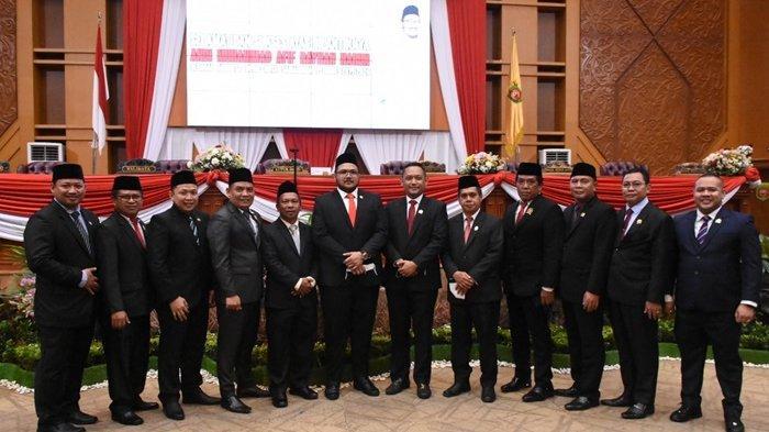 Hadiri Pelantikan PAW Anggota DPRD Samarinda, Seno Aji Berharap Kinerja Fraksi Gerindra Lebih Baik