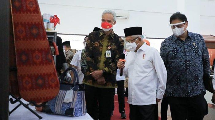 UMKM Memiliki Banyak Potensi, Ma'ruf Amin Optimis Penanggulangan Kemiskinan di Jateng Capai Target