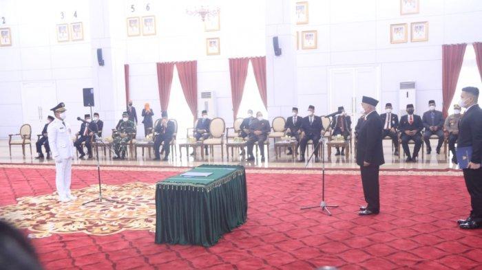 BREAKING NEWS Rahmad Masud Resmi Dilantik sebagai Walikota Balikpapan
