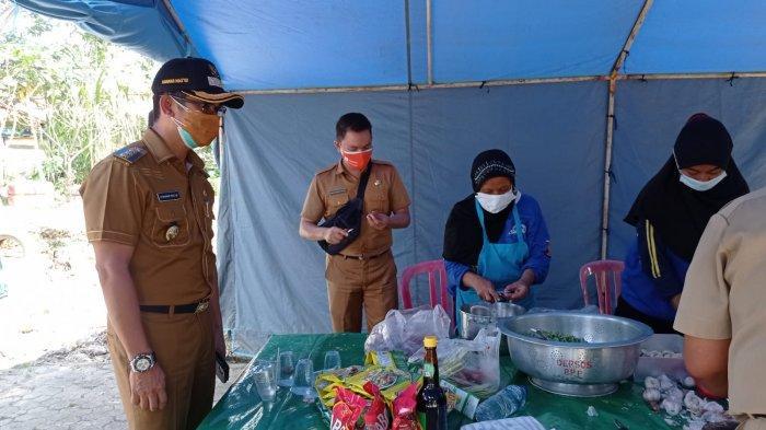 Rahmad Masud Tinjau Dapur Umum, Tiap Hari 2.149 Nasi Kotak Disalurkan ke Warga Isoman di Balikpapan