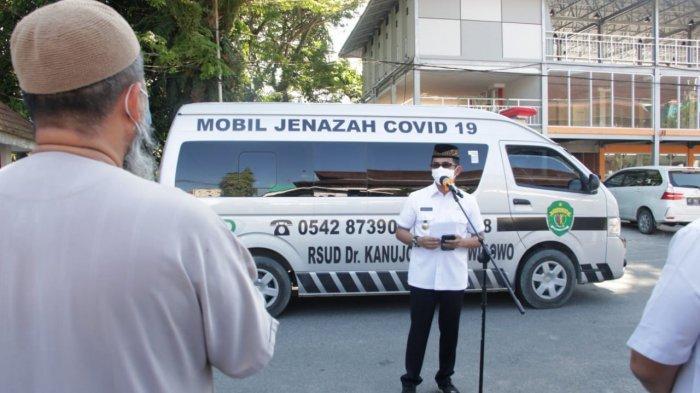 Balikpapan Kehilangan Lagi Dokter Terbaik, Walikota Rahmad Masud Lepas Jenazah dr Syukriati SpAn