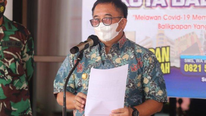 PPKM Mikro di Balikpapan, Walikota Rizal Effendi: Kelonggaran, Jangan Sampai Kerumunan Menjadi-jadi