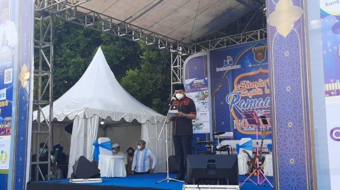 Resmikan Pasar Ramadhan di GOR Segiri Samarinda, Walikota Andi Harun Ingatkan Patuhi Prokes