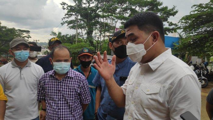 Walikota Samarinda Andi Harun Kesal PUPR Kaltim Lambat Tangani Longsoran Jalan Teluk Bajau