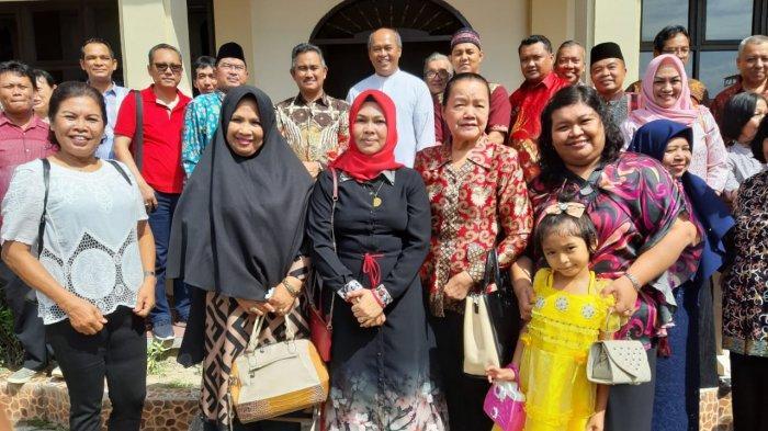 Walikota Tarakan Khairul Silaturahmi Tokoh yang Rayakan Natal, Pilih Menu Bubur Ketan Hitam