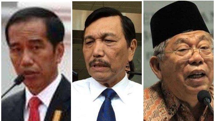 Salahgunakan Kantor, Ulah Luhut Ini Buat Maruf Amin Meradang, Permintaannya ke Jokowi Tak Main-main