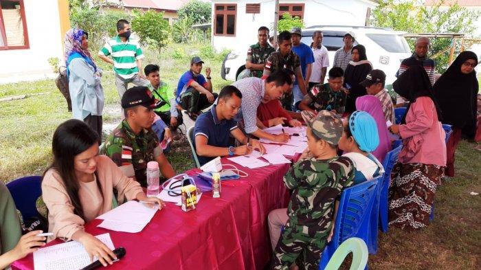 Kerja Sama dengan IDI, TNI di Perbatasan RI-Malaysia Beri Layanan Kesehatan Gratis Kepada Masyarakat